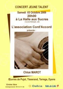 Concert Chloé Marot